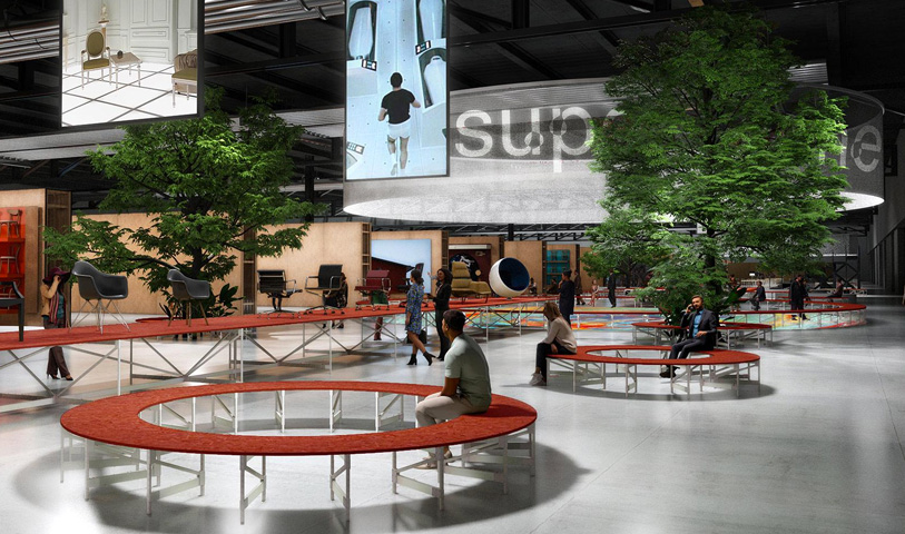 La nuova esposizione del Supersalone 2021 di Milano